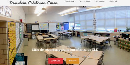 Descubrir. Colaborar. Crear: Teaching Spanish as a foreign language.