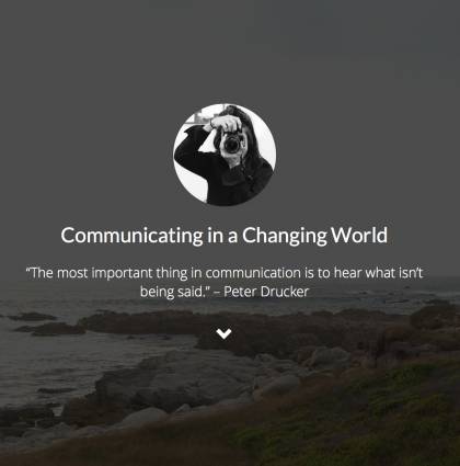 Communicating in a Changing World